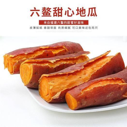 六鰲地瓜 凈重5斤六鰲紅蜜薯包郵