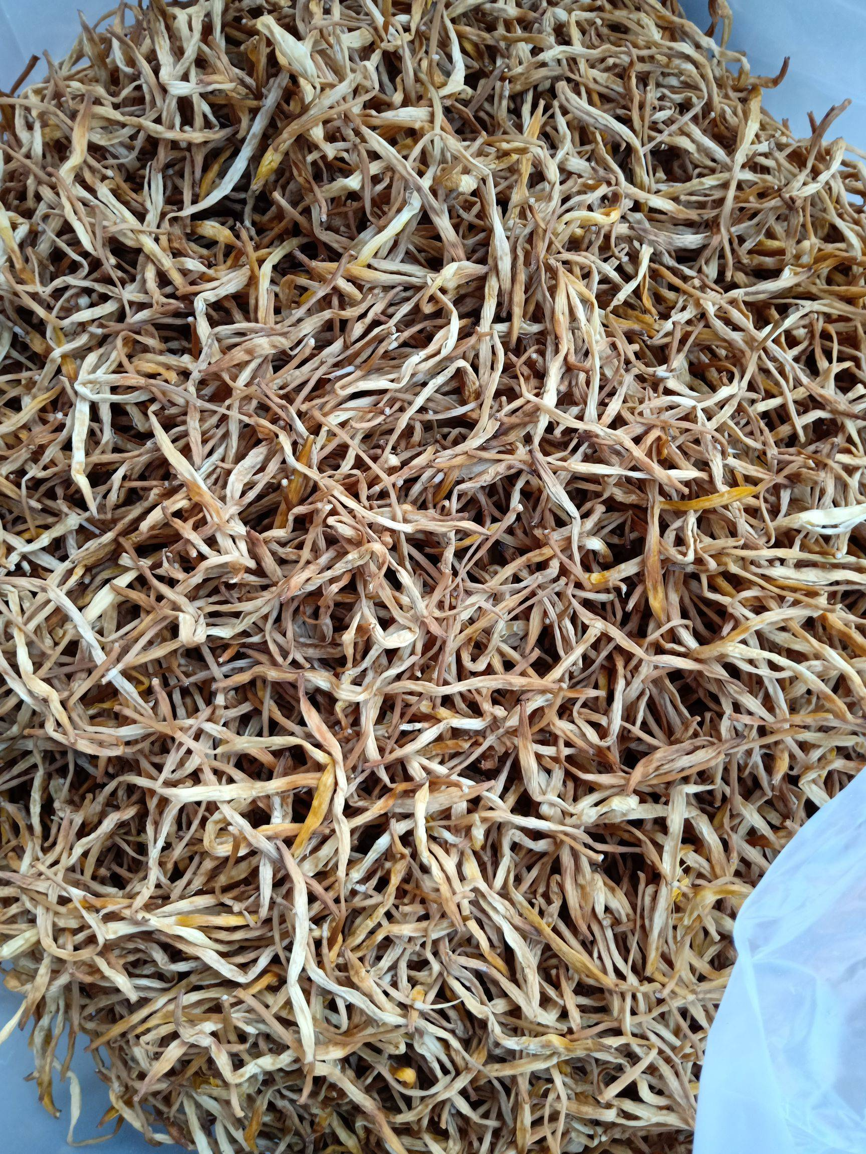 [黄花菜批发]黄花菜  新货黄条大根包邮常年有货价格9元/斤
