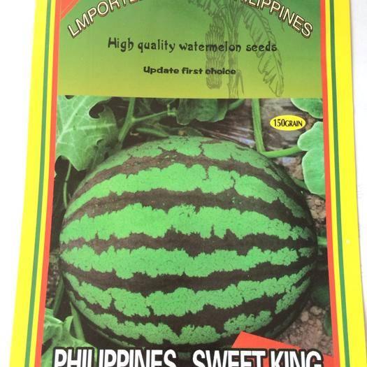 河南省鄭州市惠濟區甜王西瓜種子 進口甜王,非常甜的甜王西瓜,市場銷量較好 大棚露地首選大果型
