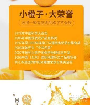 黔陽冰糖橙 55mm以下 4兩以下