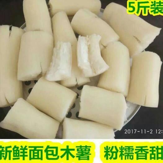 广东省湛江市徐闻县 农家现挖木薯新鲜白肉甜木薯湛江面包木薯树番薯木薯粉包邮