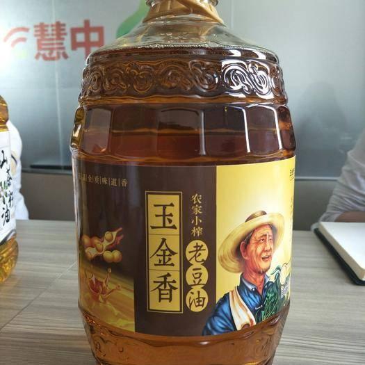 山东省济南市莱芜区笨榨豆油  笨榨老豆油