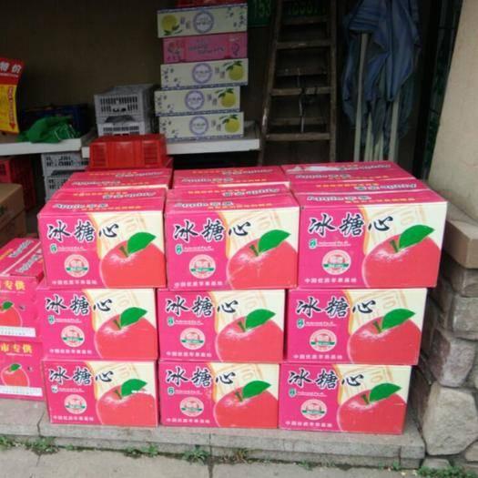 湖北省武漢市江夏區紅富士蘋果 75mm以上 片紅 紙+膜袋