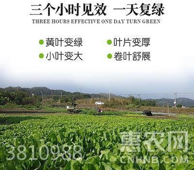 植物生長調節劑  水劑 袋裝 微毒 專治:黃葉死苗爛根