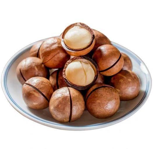 廣東省惠州市惠陽區 新貨薄殼夏威夷果總重500g克奶油味澳洲堅果零食炒