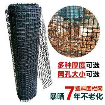 护栏网/围网 黑胶养鸭网鸡鹅孔雀网床漏粪网养殖网围栏网