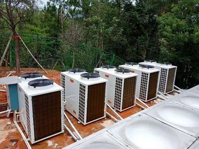 山東省泰安市新泰市增溫器 空氣能大棚供暖恒溫設備