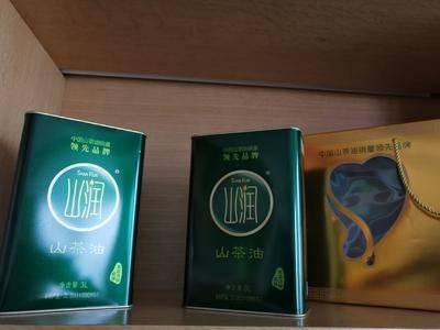 湖南省岳陽市平江縣 山潤山茶油3L  禮盒裝