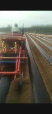 山東省青島市平度市開溝起壟機 地瓜起壟機鋪管施肥起壟一體機,起壟80公分