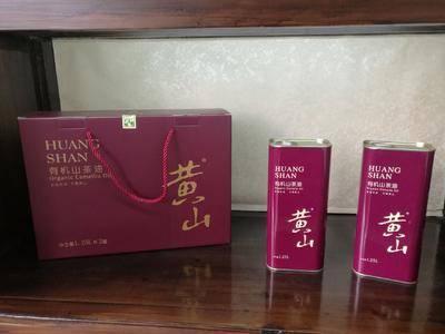 安徽省黃山市休寧縣有機山茶油 山茶籽油