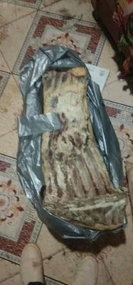 貴州省畢節市威寧彝族回族苗族自治縣 農村臘肉 有火熏的 沒熏的