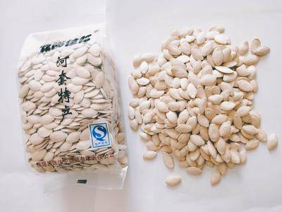 内蒙古自治区巴彦淖尔市杭锦后旗白瓜子 白皮南瓜籽,生的,常年有货
