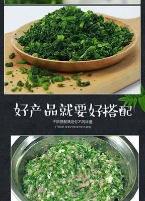 河北省滄州市運河區 速凍薺菜碎,不含冰水,全年供貨