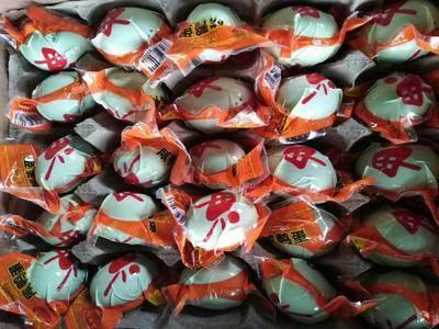 四川省成都市金牛區 廠家直銷咸蛋出油真空熟咸蛋咸鴨蛋 100枚紅心鹽蛋咸蛋批發