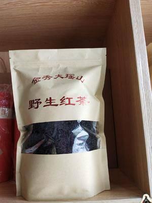 廣西壯族自治區來賓市金秀瑤族自治縣 野生紅茶來自大瑤山深山云霧高山野生茶