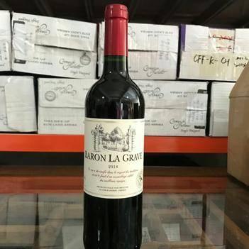 法國格拉夫男爵干紅葡萄酒原瓶原裝進口紅酒750ml