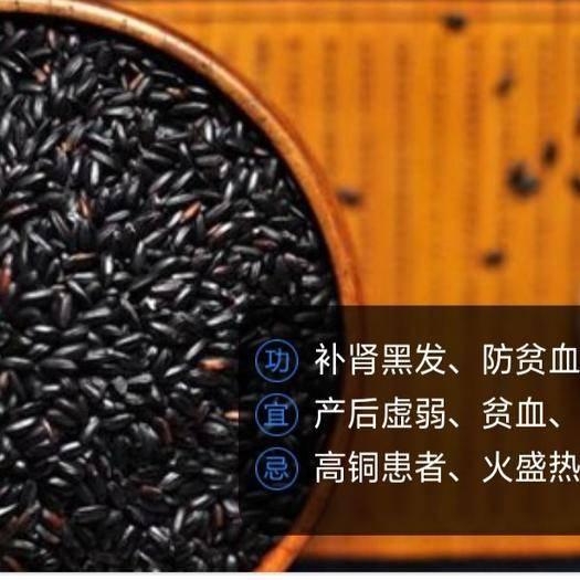 广西壮族自治区来宾市金秀瑶族自治县 大瑶山有机黑米 补 肾黑发、防贫血、