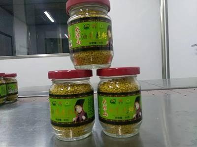 四川省涼山彝族自治州德昌縣野生蜂蜜 玻璃瓶裝 2年以上 100%