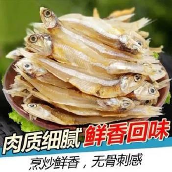包郵公干魚干500g小魚干淡干魚干海鮮干貨海燕魚丁香魚白