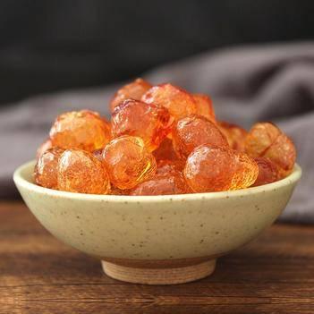 天然野生特級桃膠500g即食用桃花淚可搭配雪燕皂角米枸杞銀耳
