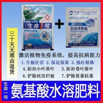 氨基酸叶面肥,生根壮苗,?;ū9?,促进生长,提高抗病能力