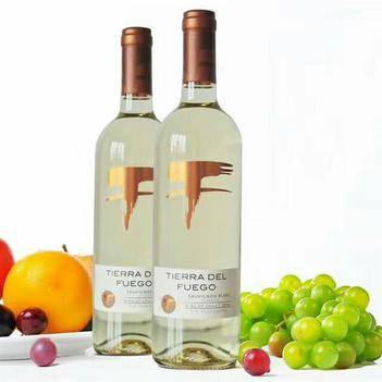 智利火地島經典長相思干白葡萄酒原瓶原裝進口750ml/瓶