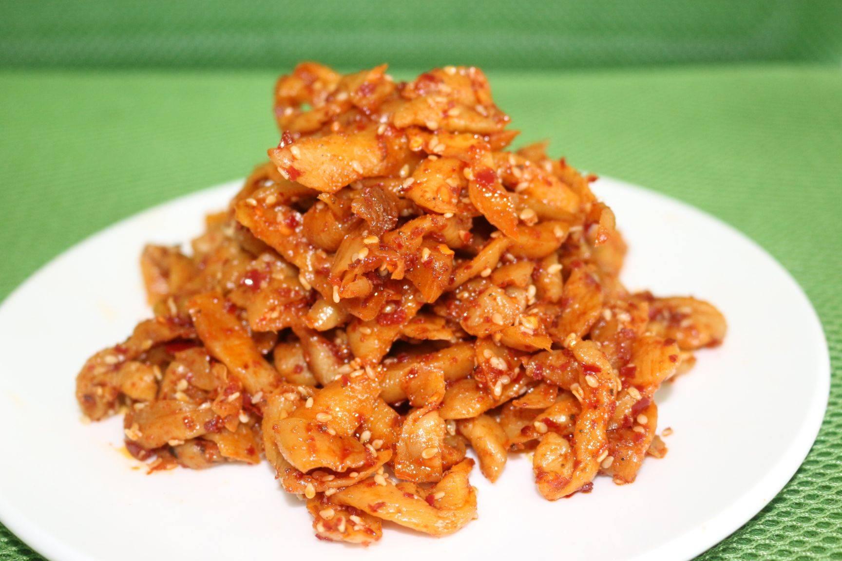 腌制蘿卜干 四川麻辣蘿卜干紅油蘿卜干下飯菜