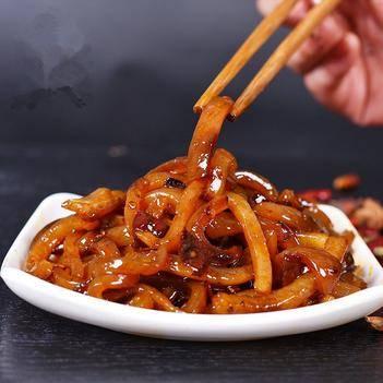麻辣鹵豬皮重慶味泡椒豬皮香辣500g250g多規格