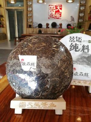 云南省普洱市思茅區 普洱景邁純料生茶:圣山名茶,大野高品