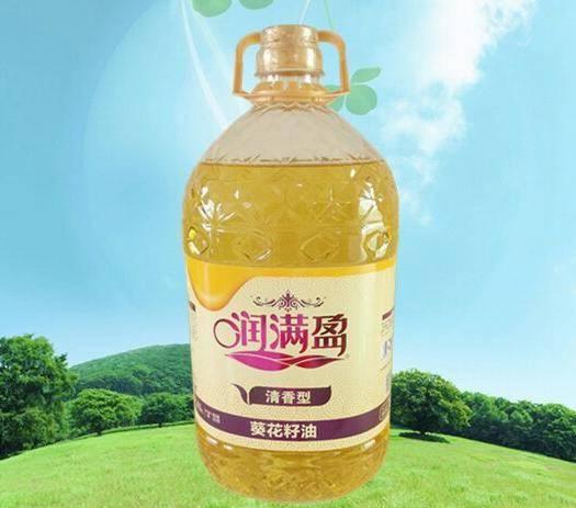 吉林省长春市农安县 5L润满盈葵花籽油 清香型