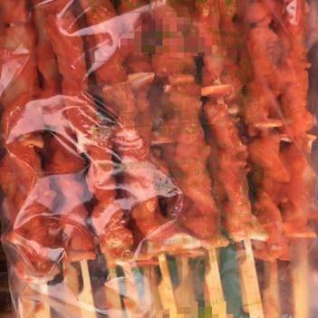 鸡肉串 骨肉相连