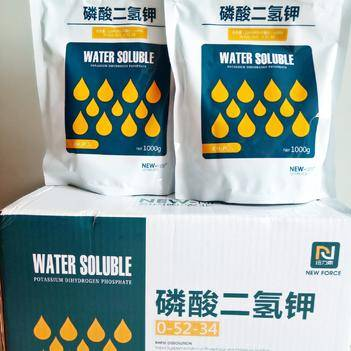 山东磷酸二氢钾1kg*10袋/箱高纯度99.9%全水溶