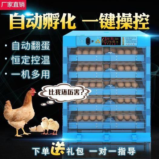 山東省德州市樂陵市養殖孵化機 廠家直銷全自動孵化機家用型雞鴨鵝鴿子鳥孵化器小型孵化箱孵蛋器