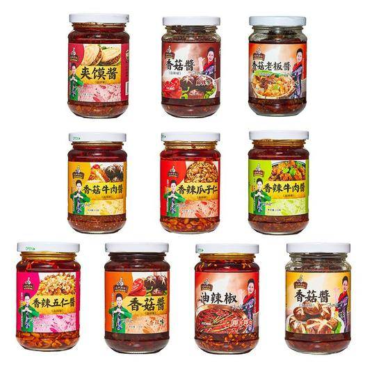 安徽省淮北市杜集区香辣酱 十种口味辣酱