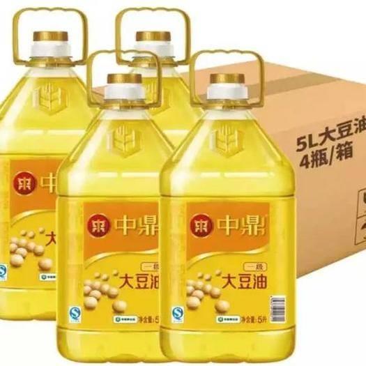 山东省临沂市临沭县 一大豆油5L中粮食用油