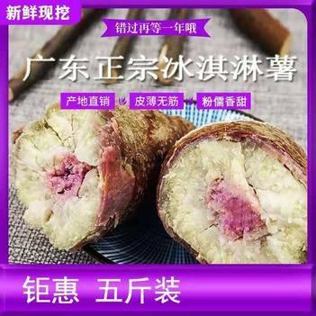 正宗廣東茂名特產冰淇淋紅薯
