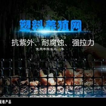 护栏网/围网 土工格栅塑料网护栏圈玉米栅栏网养鸡养鸭围栏网