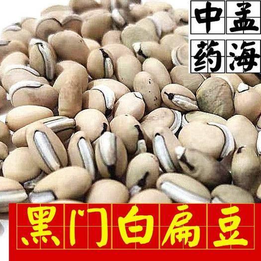 山东省菏泽市鄄城县 黑门白扁豆 选装 供应大货