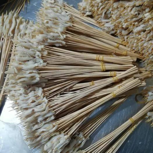 河南省周口市郸城县 升级版鸭肠串,鸭肠厚度增加