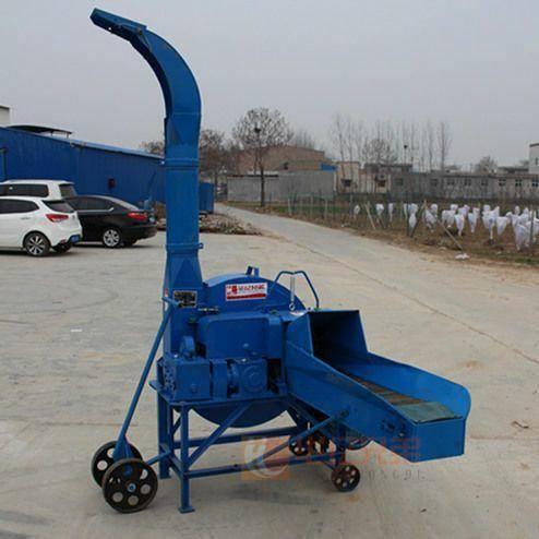 河南省郑州市荥阳市 华亿兄弟大型秸秆铡草机4.5吨新款双变速箱铡草揉丝机