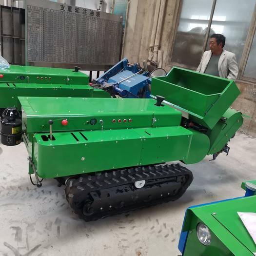 山东省济宁市任城区 履带式开沟施肥机起垄机开沟机果园管理机器旋耕机拖拉机