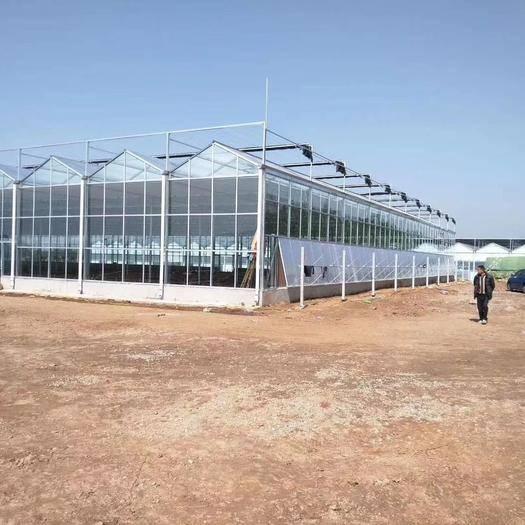 天津市静海区玻璃温室大棚 财富只留给不断努力充实的人,只要加倍努力,梦想都会成真