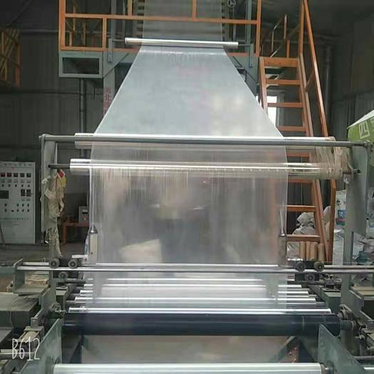 山东省临沂市兰山区PO薄膜 厂家批发工程混凝土养护薄膜1m宽