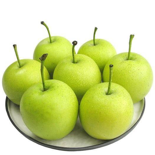 河北省石家庄市辛集市 绿皮皇冠梨青皮新鲜水果当季应季批发大量上市零售电商可一件代