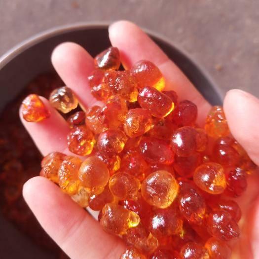 湖北省隨州市隨縣食用桃膠 黃紅珍珠膠