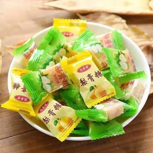 四川省成都市新都區手工糖 甘草梨膏糖 顆粒包裝薄荷味批發