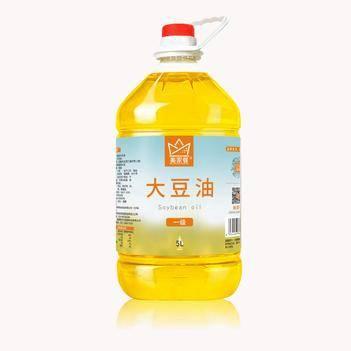美家餐一级大豆油5L
