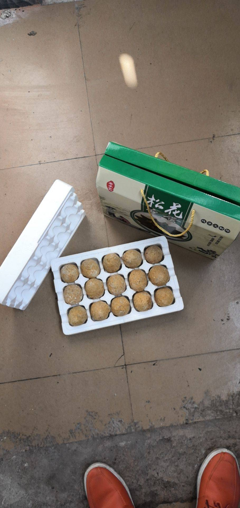 [松花鸡蛋批发]松花鸡蛋价格38元/盒