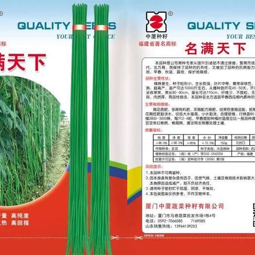 山东省济南市历城区豆角种子 翠绿条顺长不鼓粒,夏天不变色,实心,结荚多。脱水加工不变黑。