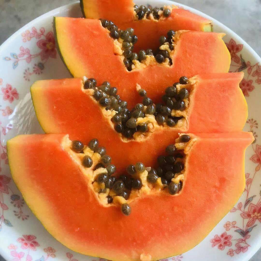 水果木瓜9斤装,高山种植,软糯香甜多汁。